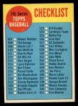 1963 Topps #509 A  Checklist 7 Front Thumbnail