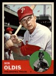 1963 Topps #404 B  Bob Oldis Front Thumbnail