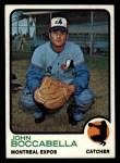 1973 Topps #592   John Boccabella Front Thumbnail