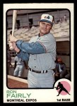 1973 Topps #125  Ron Fairly  Front Thumbnail