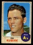 1968 Topps #79   Ted Kubiak Front Thumbnail