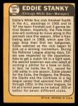 1968 Topps #564   Eddie Stanky Back Thumbnail