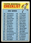 1966 Topps #101 ERR  Checklist 2 Front Thumbnail