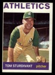 1964 Topps #402   Tom Sturdivant Front Thumbnail