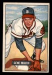 1951 Bowman #312   Gene Mauch Front Thumbnail