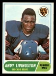 1968 Topps #48   Andy Livingston Front Thumbnail