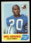 1968 Topps #129   Mel Renfro Front Thumbnail