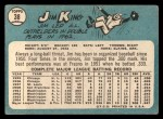 1965 Topps #38   Jim King Back Thumbnail