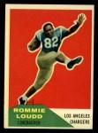 1960 Fleer #90  Rommie Loudd  Front Thumbnail