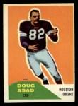 1960 Fleer #93   Doug Asad Front Thumbnail