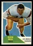 1960 Fleer #118  Ron Mix  Front Thumbnail