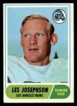 1968 Topps #53   Les Josephson Front Thumbnail
