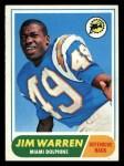 1968 Topps #66   Jim Warren Front Thumbnail