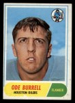 1968 Topps #146   Ode Burrell Front Thumbnail