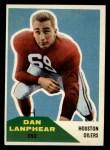 1960 Fleer #127   Dan Lanphear Front Thumbnail