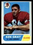 1968 Topps #138  Ken Gray  Front Thumbnail