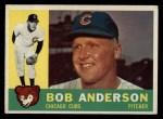 1960 Topps #412   Bob Anderson Front Thumbnail