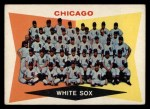1960 Topps #208  White Sox Team Checklist  Front Thumbnail