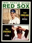 1964 Topps #287   Red Sox Rookie Stars  -  Tony Conigliaro / Bill Spanswick Front Thumbnail