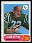 1968 Topps #188   Floyd Peters Front Thumbnail
