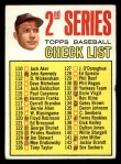 1967 Topps #103 B Checklist 2  -  Mickey Mantle Front Thumbnail