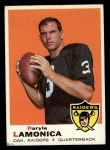 1969 Topps #263  Daryle Lamonica  Front Thumbnail