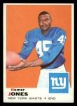 1969 Topps #244   Homer Jones Front Thumbnail