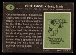 1969 Topps #197  Pete Case  Back Thumbnail
