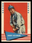 1961 Fleer #42   Harry Heilman Front Thumbnail