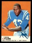 1969 Topps #72   Lenny Lyles Front Thumbnail