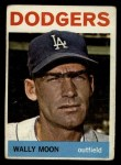 1964 Topps #353  Wally Moon  Front Thumbnail