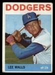 1964 Topps #411  Lee Walls  Front Thumbnail