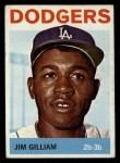 1964 Topps #310  Jim Gilliam  Front Thumbnail
