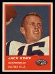1963 Fleer #24   Jack Kemp Front Thumbnail