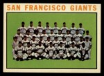 1964 #257   Giants Team Front Thumbnail