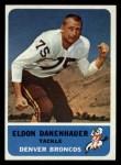 1962 Fleer #38   Eldon Danenhauer Front Thumbnail