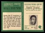 1966 Philadelphia #113  Gordon Smith  Back Thumbnail