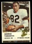 1961 Fleer #124  George Tarasovic  Front Thumbnail
