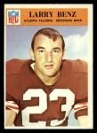 1966 Philadelphia #2  Larry Benz  Front Thumbnail