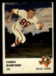 1961 Fleer #204  Chris Buford  Front Thumbnail