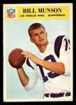 1966 Philadelphia #101   Bill Munson Front Thumbnail