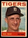 1964 Topps #19  Don Wert  Front Thumbnail