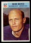 1966 Philadelphia #16   Bob Boyd Front Thumbnail
