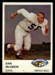 1961 Fleer #140  Dan McGrew  Front Thumbnail