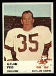 1961 Fleer #17   Galen Fiss Front Thumbnail