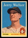 1958 Topps #113   Jerry Walker Front Thumbnail
