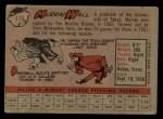 1958 Topps #410   Murray Wall Back Thumbnail