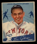 1934 Goudey #32  Blondy Ryan  Front Thumbnail