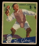 1934 Goudey #72   Arndt Jorgens Front Thumbnail
