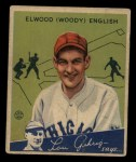 1934 Goudey #4  Elwood English  Front Thumbnail